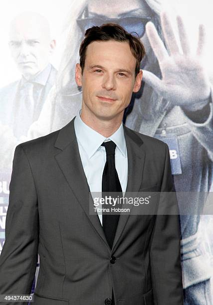 Actor Scoot McNairy attends the premiere of Warner Bros Pictures' Our Brand Is Crisis at TCL Chinese Theatre on October 26 2015 in Hollywood...