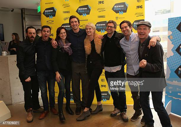 Actor Scoot McNairy creator Christopher Cantwell actors Kerry Bishe Lee Pace Mackenzie Davis executive producer Jonathan Lisco creator Christopher C...