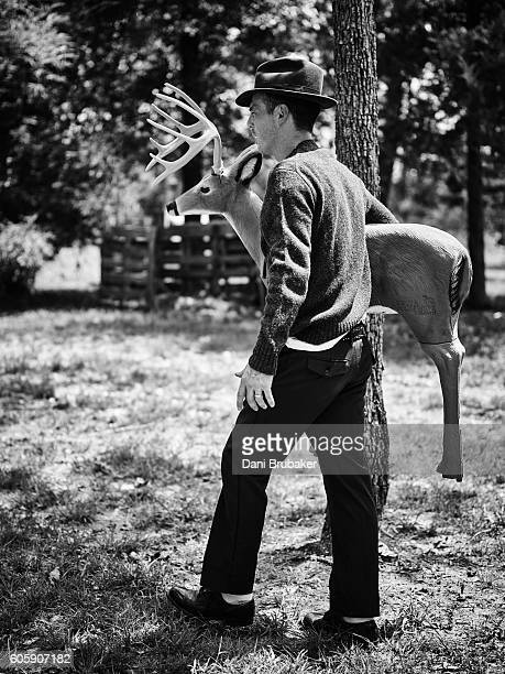 Actor Scoot McNairy is photographed for Flaunt Magazine on August 28 2015 in Los Angeles California