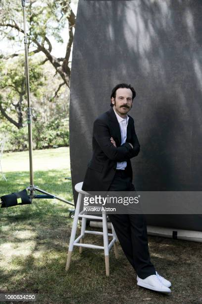 Actor Scoot McNairy is photographed for The Hollywood Reporter on April 17 2018 in Los Angeles California