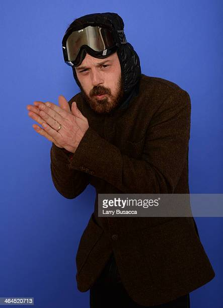 Actor Scoot McNairy poses for a portrait during the 2014 Sundance Film Festival at the Getty Images Portrait Studio at the Village At The Lift...
