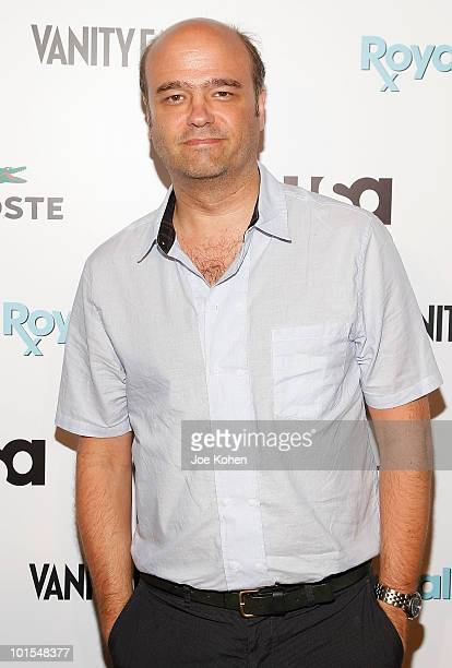 Actor Scott Adsit arrives at the USA Network and Vanity Fair 'Royal Pains' Season Two kick off event at Lacoste Fifth Avenue Boutique on June 1 2010...