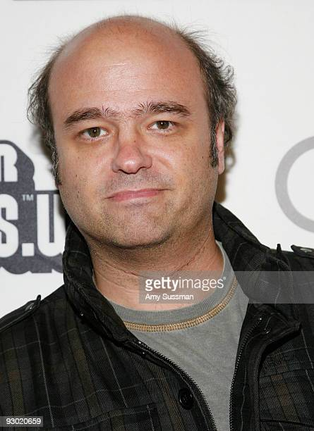 Actor Scott Adsit attends the 25 years of Mario celebration at the Nintendo World Store on November 12 2009 in New York City