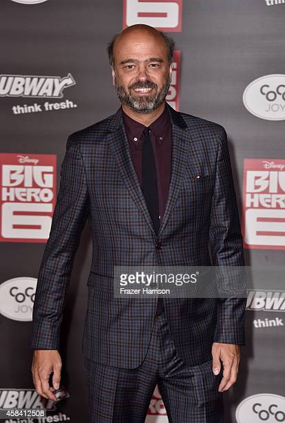 Actor Scott Adsit attends the premiere of Disney's Big Hero 6 at the El Capitan Theatre on November 4 2014 in Hollywood California