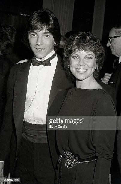 Actor Scott Baio and Actress Erin Moran attending 39th Annual Golden Globe Awards on January 30, 1982 at Beverly Hilton Hotel in Beverly Hills,...