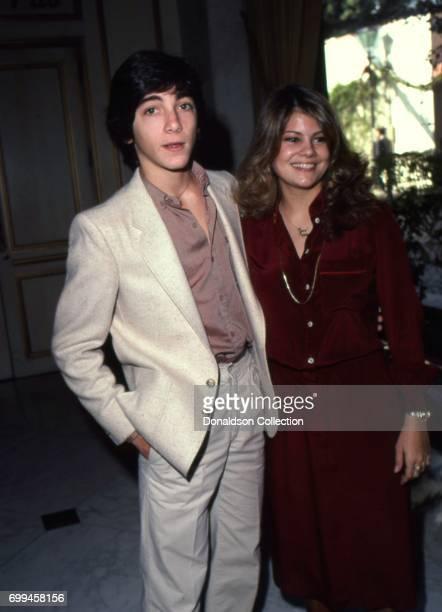 Actor Scott Baio attends the Golden Apple Awards in December 1979 with actress Lisa Welchel in Los Angeles California