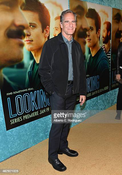 Actor Scott Bakula arrives to the premiere of HBO's 'Looking' at Paramount Theater on the Paramount Studios lot on January 15 2014 in Hollywood...