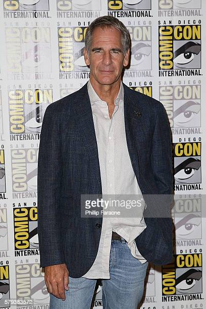 Actor Scott Bakula attends the 'Star Trek 50' press line during ComicCon International 2016 on July 23 2016 in San Diego California