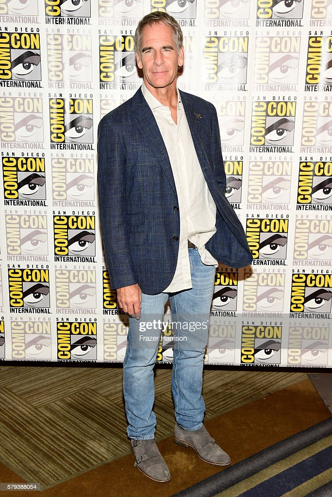 Actor Scott Bakula attends the 'Star Trek 50' press line during Comic-Con International on July 23, 2016 in San Diego, California.