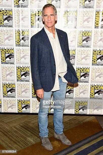 Actor Scott Bakula attends the 'Star Trek 50' press line during ComicCon International on July 23 2016 in San Diego California