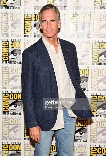 Actor Scott Bakula attends the 'Star Trek 50' press line during ComicCon International on July 23 2016 in San Diego California
