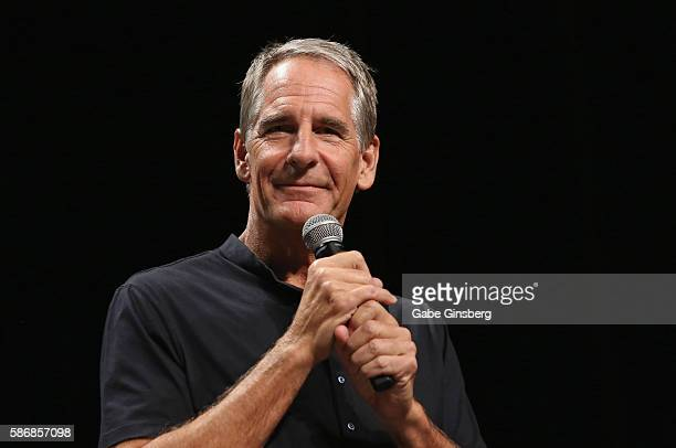 Actor Scott Bakula speaks during the 15th annual official Star Trek convention at the Rio Hotel Casino on August 6 2016 in Las Vegas Nevada