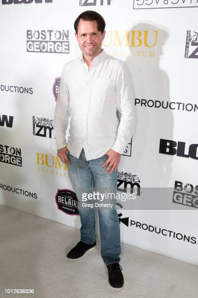 Actor Scott Butler attends George Jung's Birthday Celebration And Screening Of Blow at TCL Chinese 6 Theatres on August 6 2018 in Hollywood California