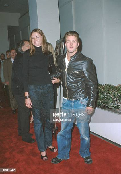 Actor Scott Caan and his date attend the premiere of Miramax Films new movie The Yards October 18 2000 at the WGA Theater in Los Angeles CA
