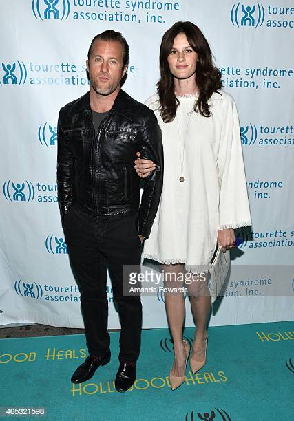 Actor Scott Caan and Kacy Byxbee arrive at the 2nd Annual Hollywood Heals Spotlight On Tourette Syndrome event at the House of Blues Sunset Strip on...