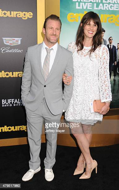 Actor Scott Caan and Kacy Byxbee arrive at the 'Entourage' Los Angeles premiere at Regency Village Theatre on June 1 2015 in Westwood California