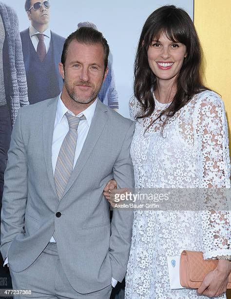 Actor Scott Caan and Kacy Byxbee arrive at the Los Angeles premiere of 'Entourage' at Regency Village Theatre on June 1 2015 in Westwood California