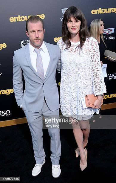 Actor Scott Caan and Kacy Byxbee arrive at Warner Bros Pictures premiere of 'Entourage' at Regency Village Theatre on June 1 2015 in Westwood...