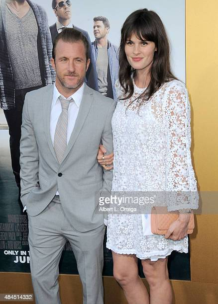 Actor Scott Caan and Kacy Byxbee arrive for the Premiere Of Warner Bros Pictures' Entourage held at Regency Village Theatre on June 1 2015 in...