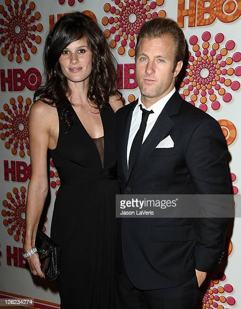 Actor Scott Caan and Kacy Byxbee attend HBO's post Emmy party at Pacific Design Center on September 18 2011 in West Hollywood California