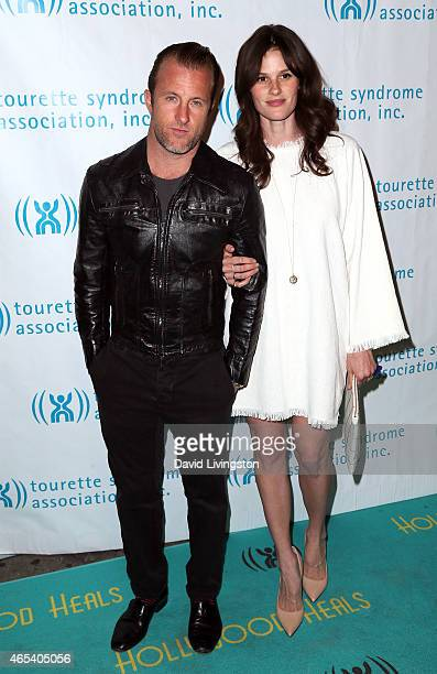 Actor Scott Caan and Kacy Byxbee attend the 2nd Annual Hollywood Heals Spotlight On Tourette Syndrome at House of Blues Sunset Strip on March 5 2015...