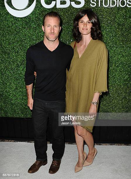 Actor Scott Caan and Kacy Byxbee attend the 4th annual CBS Television Studios Summer Soiree at Palihouse on June 2 2016 in West Hollywood California