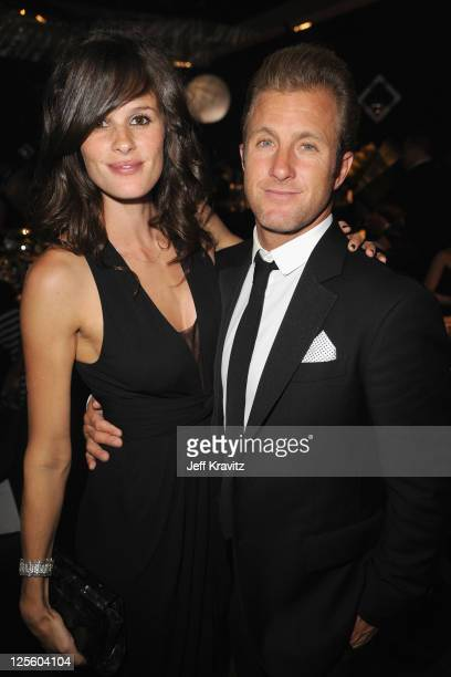 Actor Scott Caan and Kacy Byxbee attend the Governor's Ball during the 63rd Primetime Emmy Awards at the Los Angeles Convention Center on September...