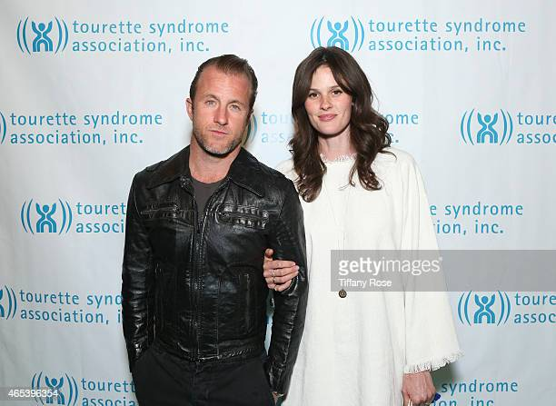 Actor Scott Caan and Kacy Byxbee attend the Second Annual Hollywood Heals Spotlight On Tourette Syndrome at House of Blues Sunset Strip on March 5...