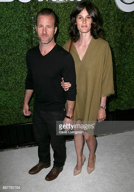 Actor Scott Caan and model Kacy Byxbee attend the 4th Annual CBS Television Studios Summer Soiree at Palihouse on June 2 2016 in West Hollywood...