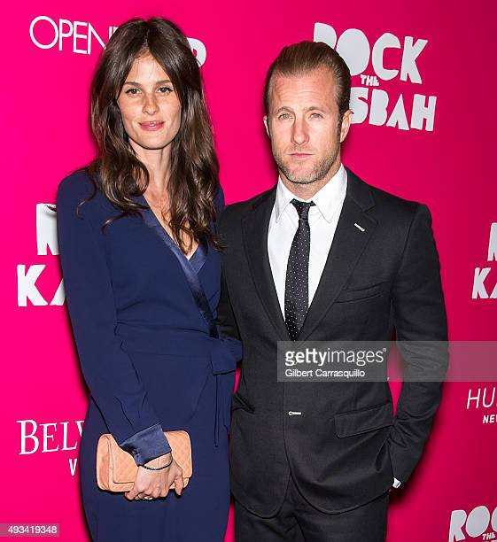 Actor Scott Caan and model Kacy Byxbee attend the 'Rock The Kasbah' New York Premiere at AMC Loews Lincoln Square on October 19 2015 in New York City