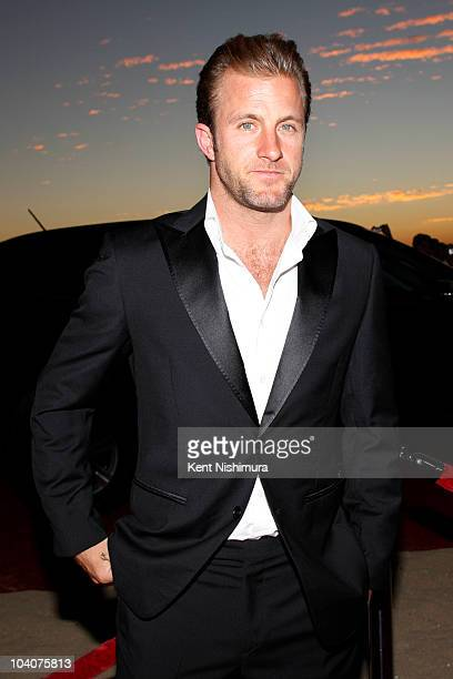 Actor Scott Caan and the cast and producers of 'Hawaii 50' arrive at Sunset on the Beach on Waikiki Beach for a screening of the highlyanticipated...