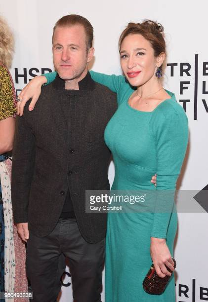 Actor Scott Caan and writer/director Emma Forrest attend the screening of 'Untogether' during the 2018 Tribeca Film Festival at SVA Theater on April...