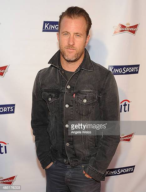 Actor Scott Caan attends Boxing at Barker presented by Budweiser at Barkar Hangar on April 16 2014 in Santa Monica California