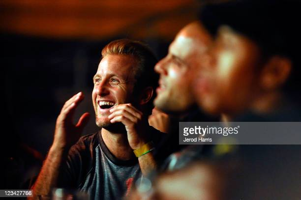 Actor Scott Caan attends the Muaythai Premiere League on September 2 2011 in Long Beach California