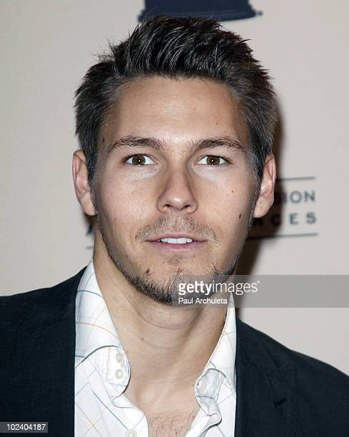 Actor Scott Clifton arrives at the 2010 Daytime Emmy Awards nominees cocktail reception at SLS Hotel at Beverly Hills on June 24 2010 in Los Angeles...