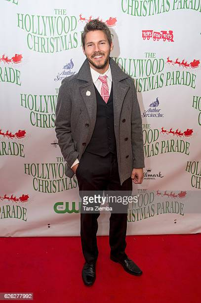 Actor Scott Clifton arrives at the 85th Annual Hollywood Christmas Parade on November 27 2016 in Hollywood California