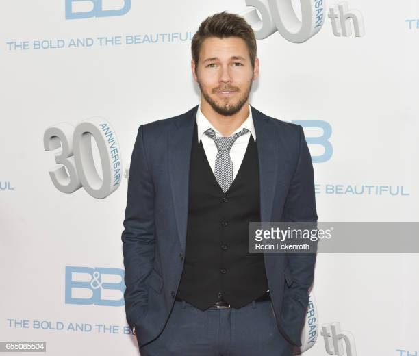 Actor Scott Clifton attends CBS's 'The Bold and The Beautiful' 30th Anniversary Party at Clifton's Cafeteria on March 18 2017 in Los Angeles...