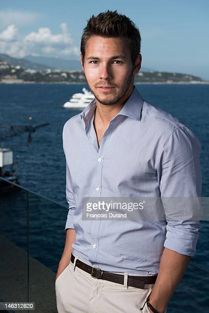 Actor Scott Clifton poses for a portrait session at the Fairmont Monte Carlo Hotel during the 52nd Monte Carlo TV Festival on June 13 2012 in Monaco...