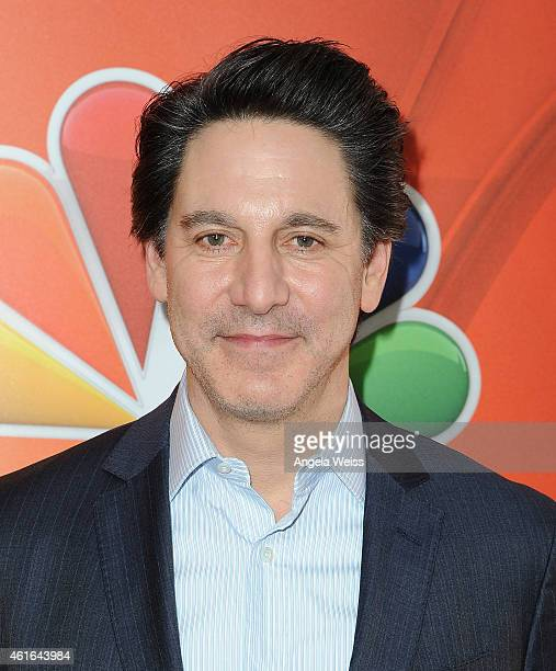 Actor Scott Cohen arrives at NBCUniversal's 2015 Winter TCA Tour Day 2 at The Langham Huntington Hotel and Spa on January 16 2015 in Pasadena...