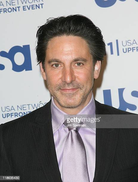Actor Scott Cohen attends the 2011 USA Upfront at The Tent at Lincoln Center on May 2 2011 in New York City