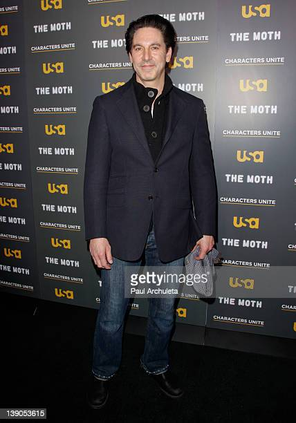 Actor Scott Cohen attends the USA Network and The Moth presentation of 'A More Perfect Union Stories Of Prejudice And Power' at Pacific Design Center...