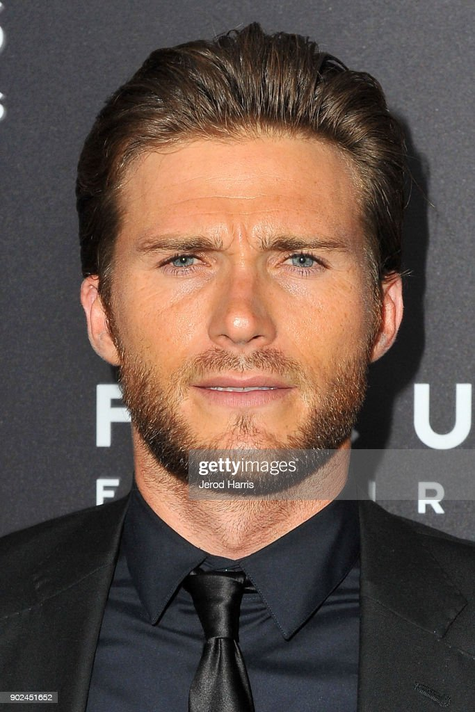 Actor Scott Eastwood arrives at 2018 American Rescue Dog Show on January 7, 2018 in Beverly Hills, California.