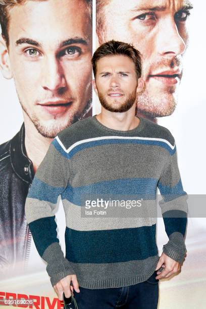US actor Scott Eastwood attend the 'Overdrive' Photo Call at Hotel De Rome on June 21 2017 in Berlin Germany