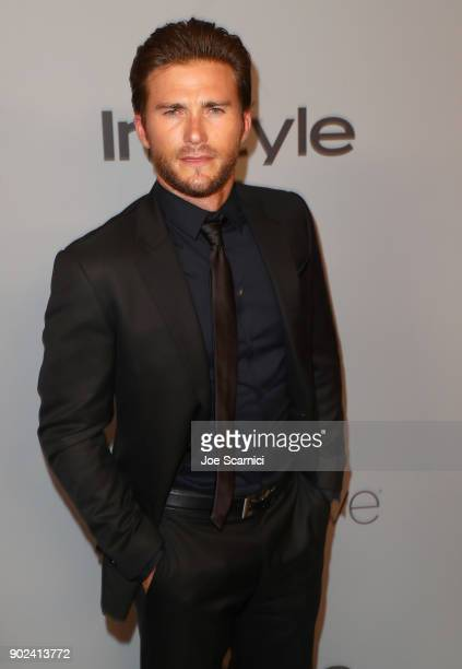 Actor Scott Eastwood attends the 2018 InStyle and Warner Bros 75th Annual Golden Globe Awards PostParty at The Beverly Hilton Hotel on January 7 2018...