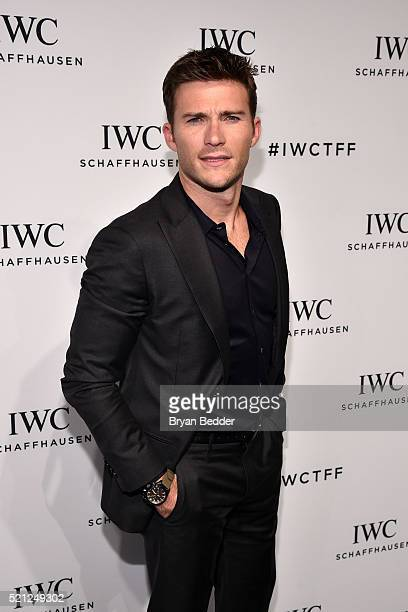 Actor Scott Eastwood attends the 4th Annual IWC Schaffhausen 'For The Love Of Cinema' dinner at Spring Studios on April 14 2016 in New York City