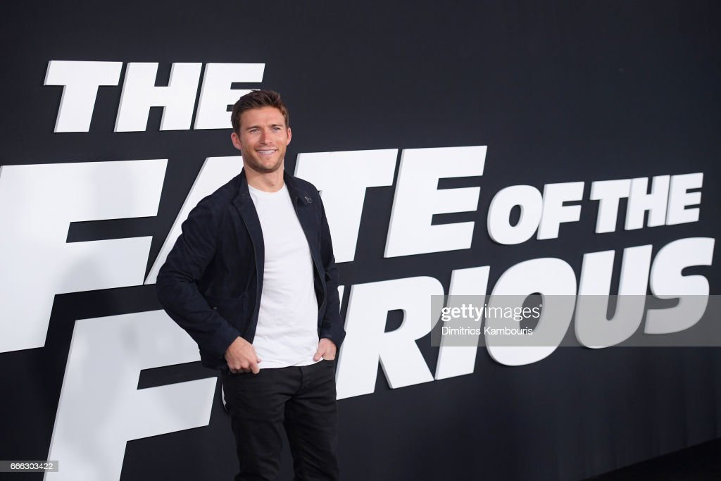 Actor Scott Eastwood attends 'The Fate Of The Furious' New York Premiere at Radio City Music Hall on April 8, 2017 in New York City.