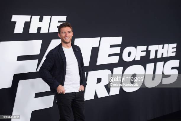 Actor Scott Eastwood attends 'The Fate Of The Furious' New York Premiere at Radio City Music Hall on April 8 2017 in New York City