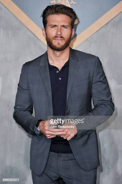 Actor Scott Eastwood attends the premiere of Universal's Pacific Rim Uprising at TCL Chinese Theatre IMAX on March 21 2018 in Hollywood California