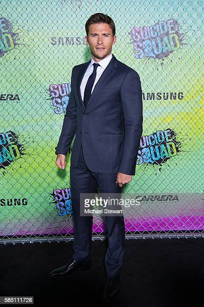 Actor Scott Eastwood attends the Suicide Squad world premiere at The Beacon Theatre on August 1 2016 in New York City
