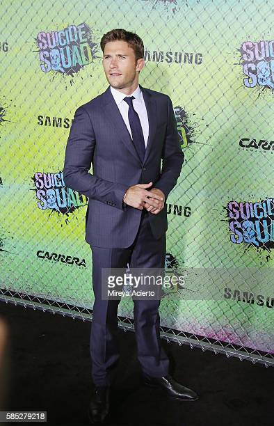 """Actor Scott Eastwood attends the """"Suicide Squad"""" world premiere at The Beacon Theatre on August 1, 2016 in New York City."""